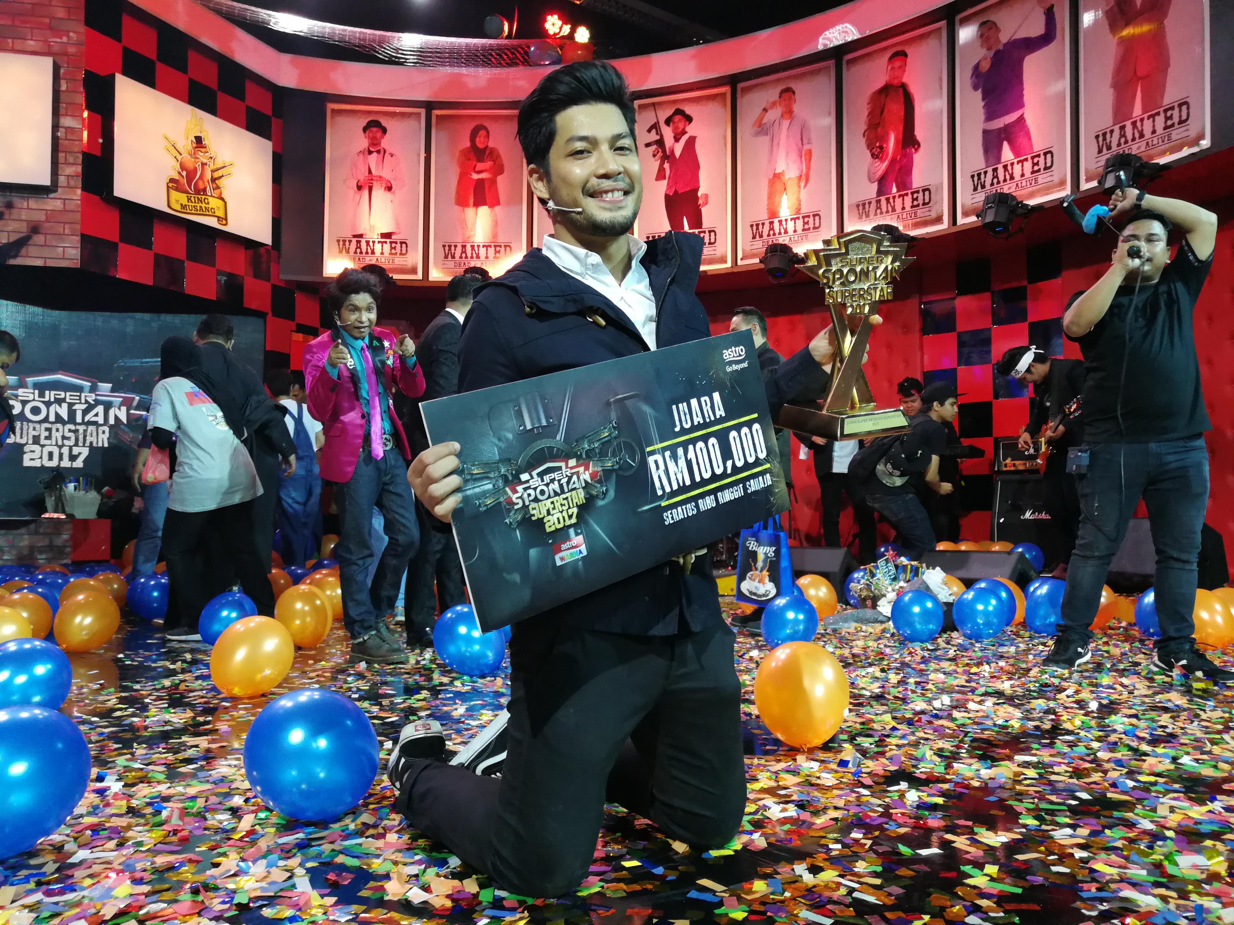 Photo of Juara Super Spontan Superstar, Kamal Menang RM100 Ribu