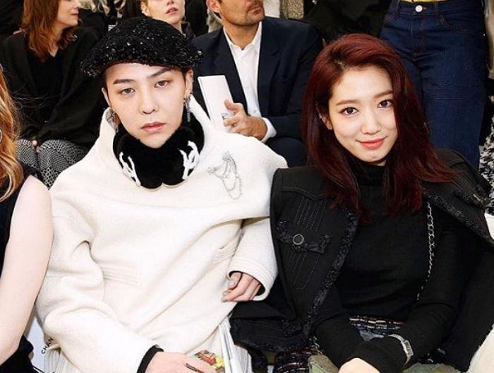 Photo of G-Dragon, Park Shin Hye Dijemput Ke Paris Fashion Week