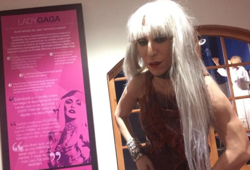 Photo of Netizen Kutuk Patung Lilin Lady Gaga Di Peru