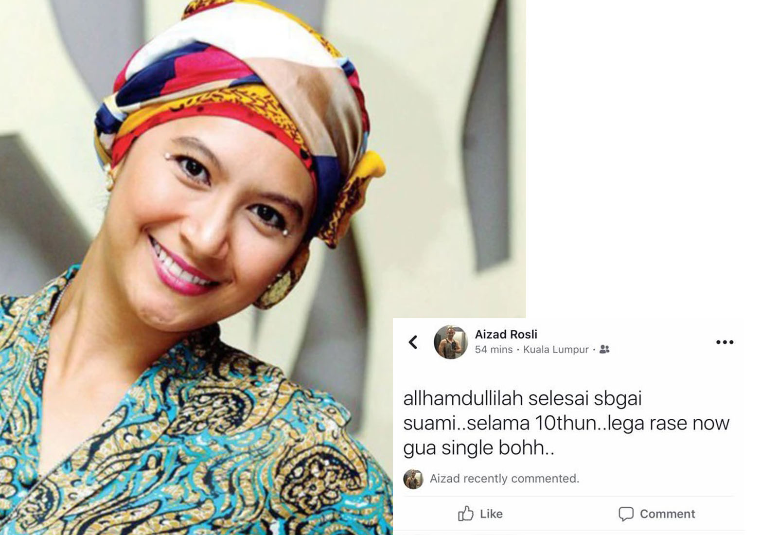 Photo of Pelakon Drama Balkisyh, Suami Dah Berpisah?