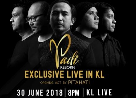 Photo of Kumpulan Padi Jayakan Konsert Di KL Live 30 Jun Ini