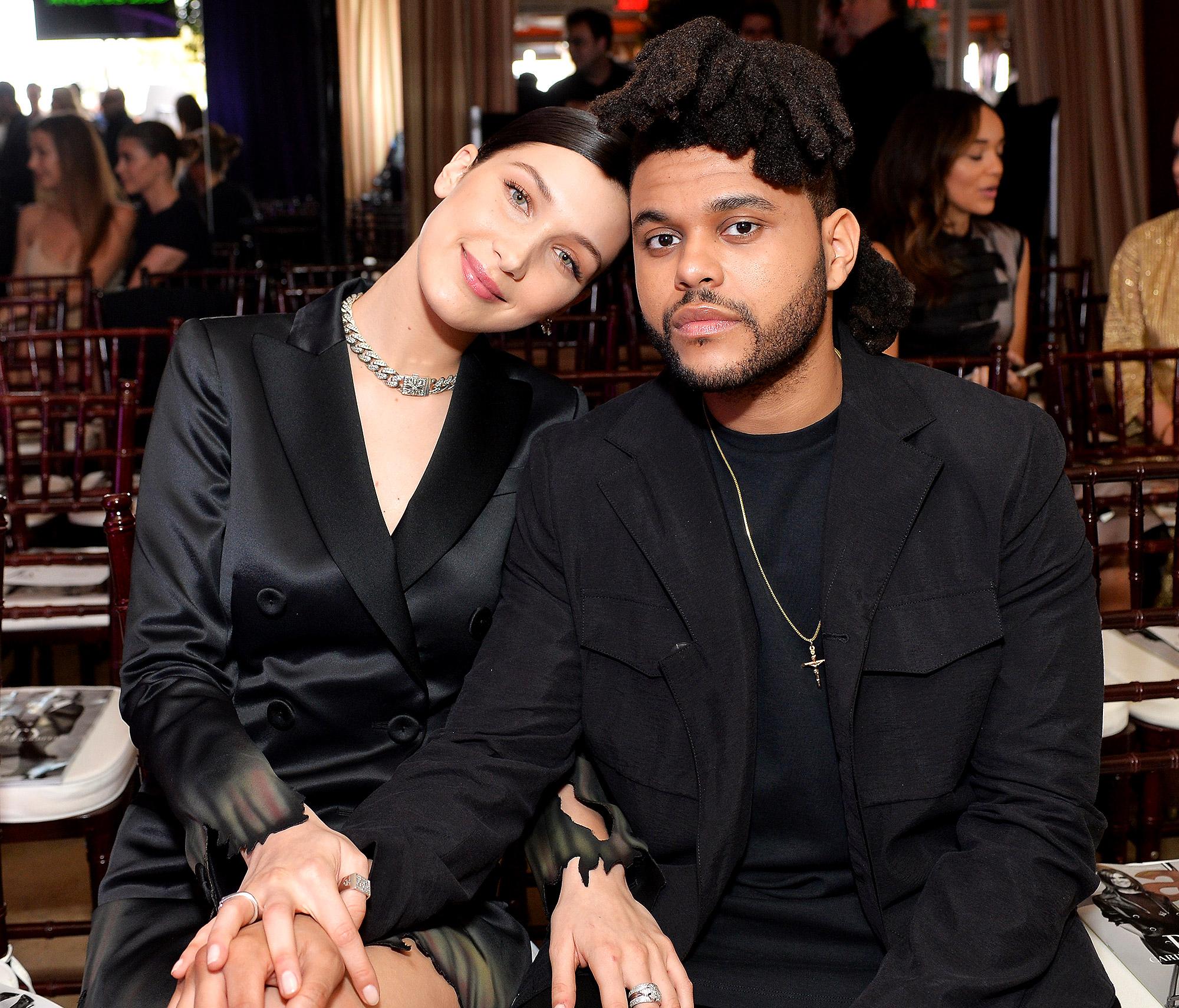 Photo of Bercium… Hubungan Cinta The Weeknd, Bella Kembali Bertaut?