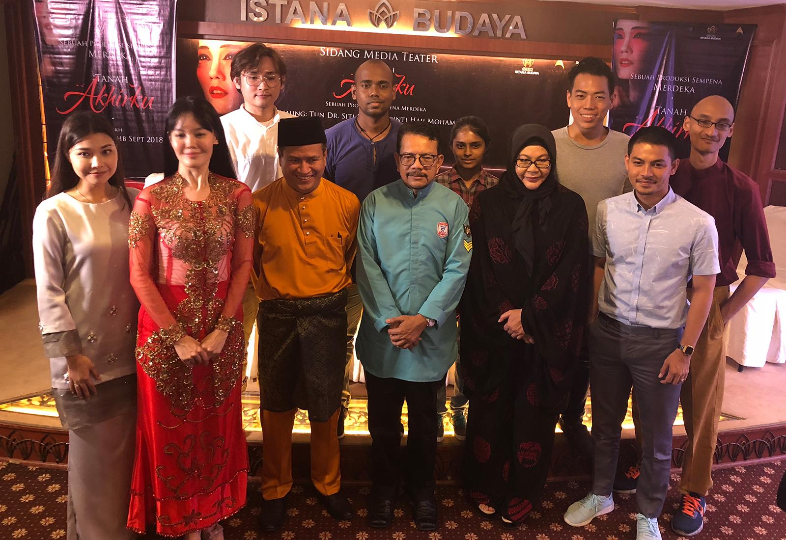 Photo of Pementasan Teater Tanah Akhirku Sempena Bulan Kemerdekaan