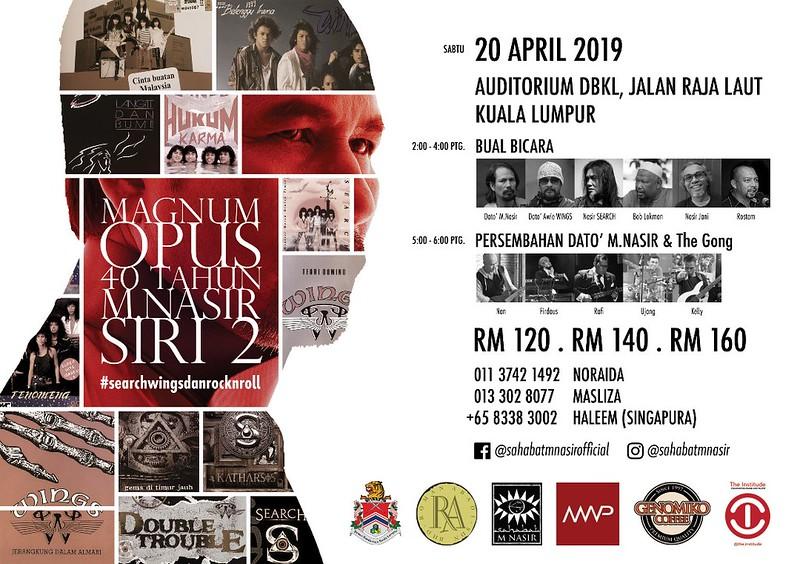 Photo of M.Nasir Jayakan Showcase Eksklusif Magnum Opus 20 April Ini