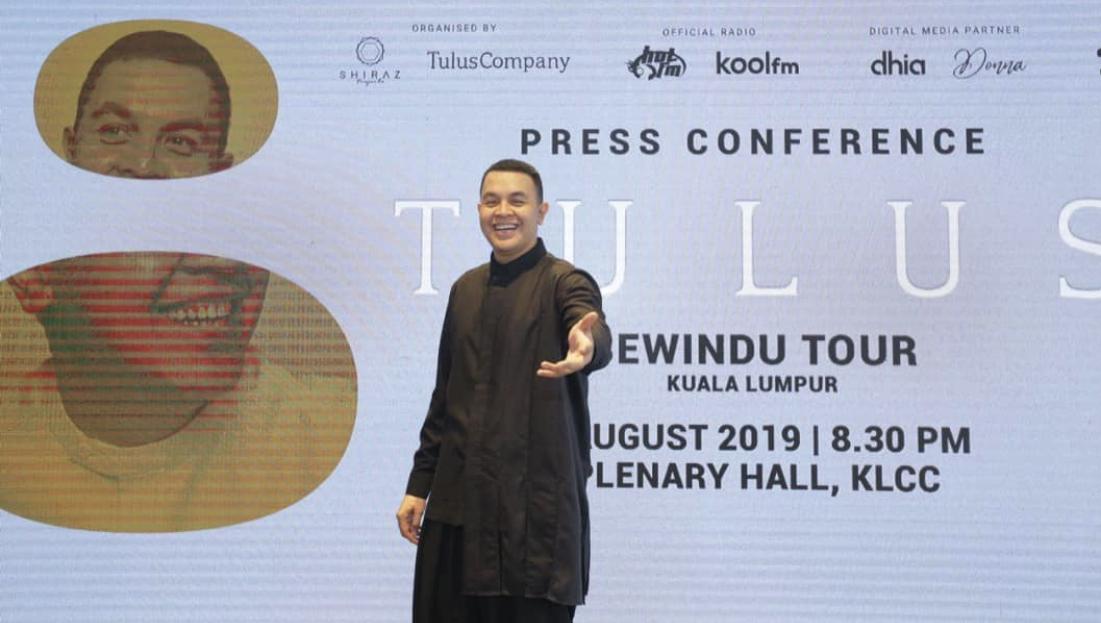 Photo of Kunjungan Kedua Di Malaysia, Tulus Tak Sangka Popular Di Sini