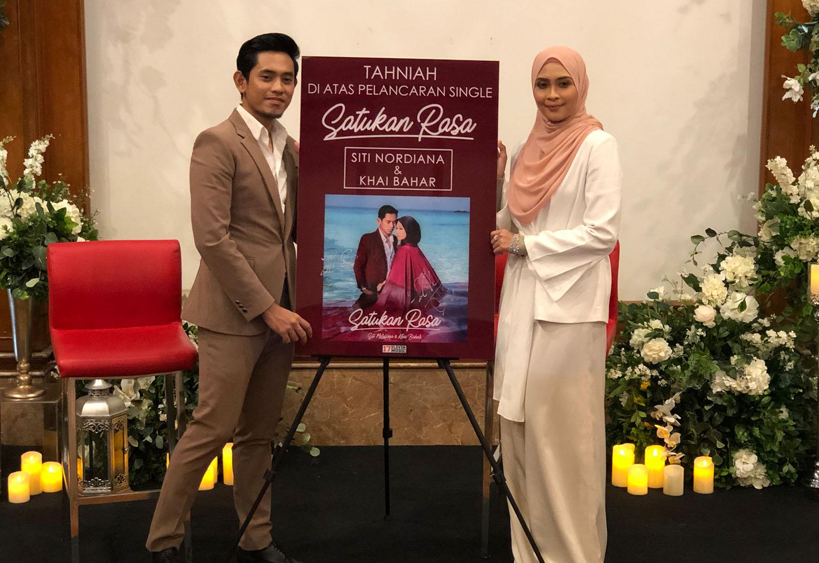 Photo of Khai Bahar, Siti Nordiana Akhirnya 'Disatukan' Menerusi Satukan Rasa