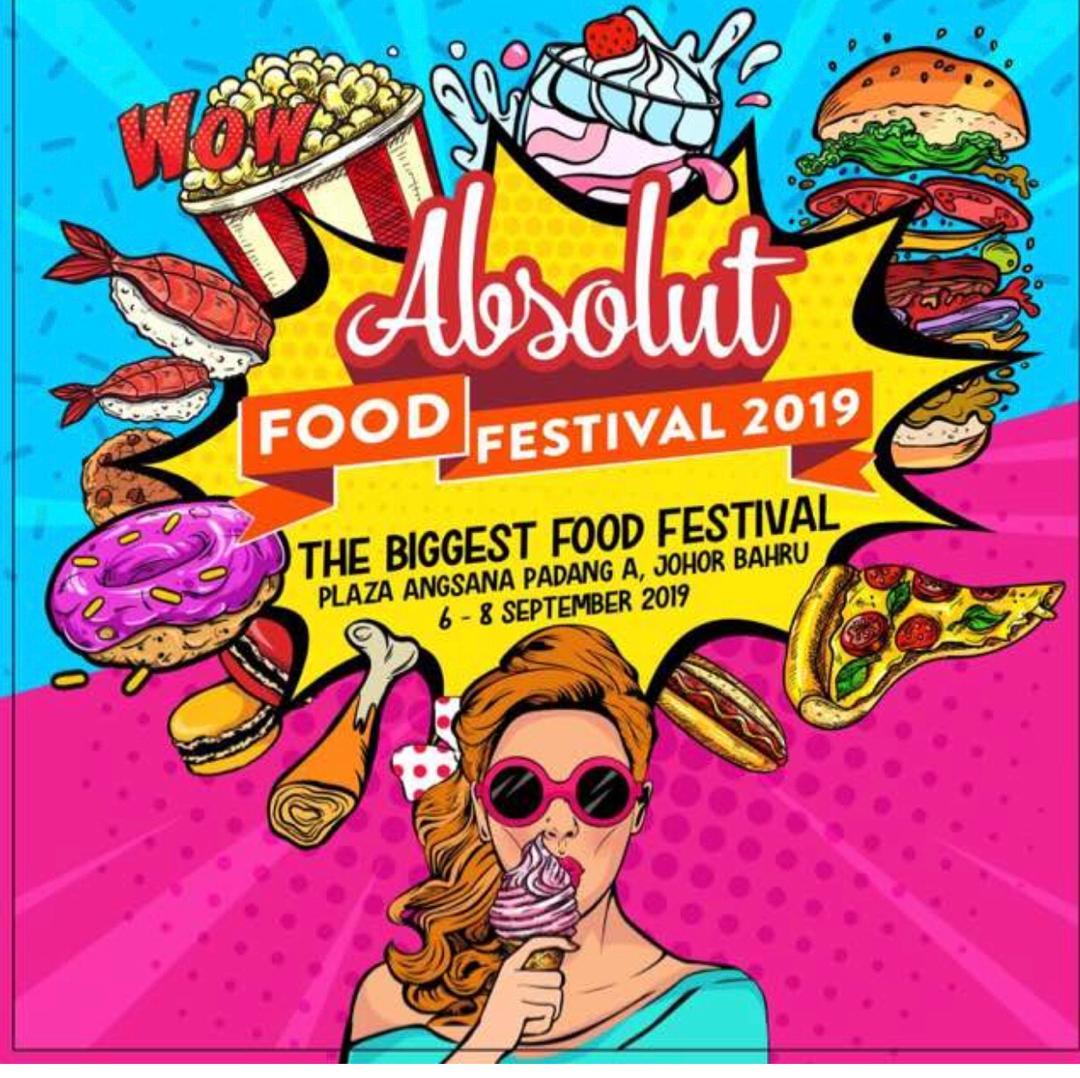 Photo of Absolut Food Festival 2019 Bakal Berlangsung Di Johor Bahru