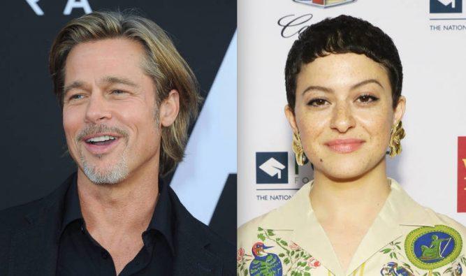Photo of Gambar Berpelukan Brad Pitt & Alia Shawkat Sahkan Gosip Bercinta?