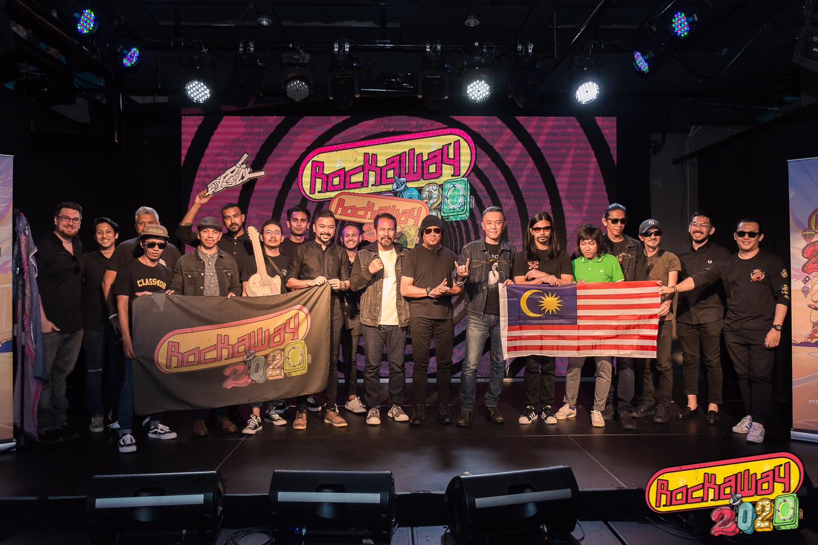 Photo of M.Nasir, Hujan & Masdo Meriahkan Rockaway 2020 Mac Depan