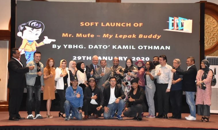 Photo of Mr. Mufe – My Lepak Buddy Platform Digital Terbaharu Pamer Karya Tempatan