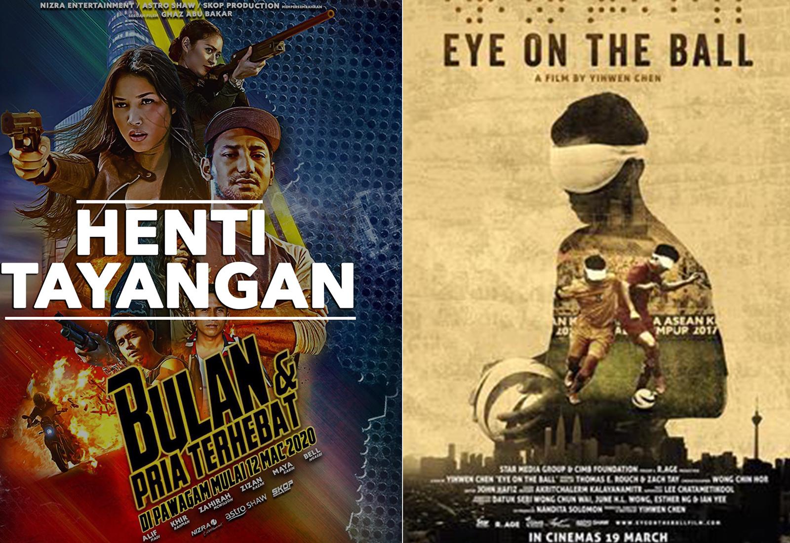 Photo of Bulan & Pria Terhebat Henti Tayangan, Eye On The Ball Tunda