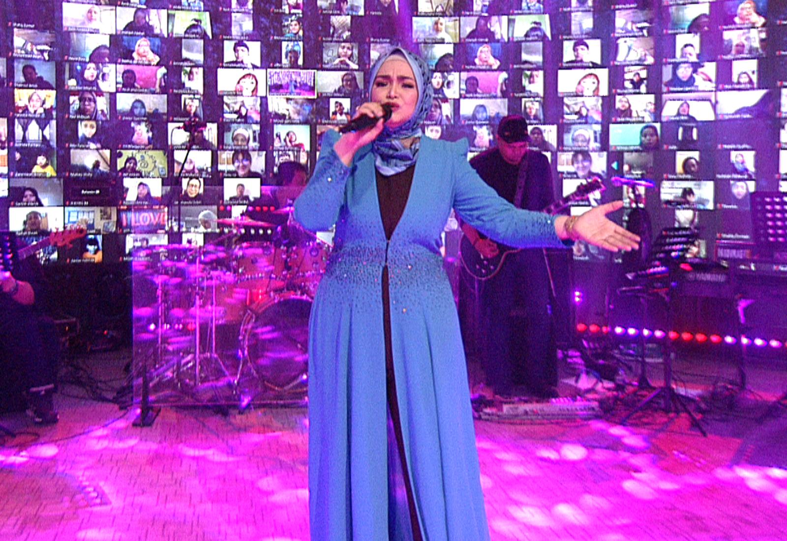 Photo of Konsert Online Siti Nurhaliza Boleh Ditonton Di YouTube Universal Music