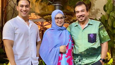 Photo of Dr. Say Post Gambar Dengan Tokti, Ramai Cakap Nampak Baby Bump