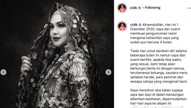 Photo of Siti Nurhaliza Sah Berbadan Dua… Kini Sedang Hamil Empat Bulan