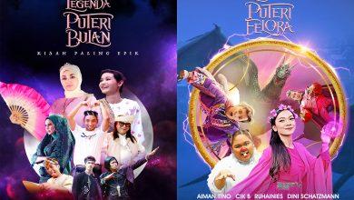 Photo of Kisah Puteri Bulan & Puteri Felora Menerusi Siri Telefilem Legenda